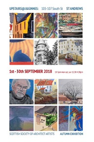 Autumn Exhibition Scottish Society of Architect Artists September