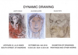 Dynamic Drawing, 'An Exploration of Portraiture'